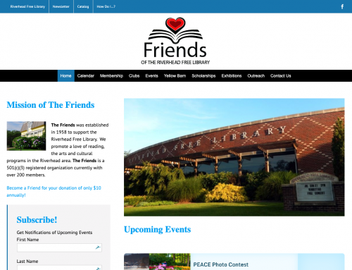 FriendsoftheRiverheadLibrary.org